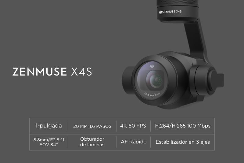 Camara X4S para Inspire 2