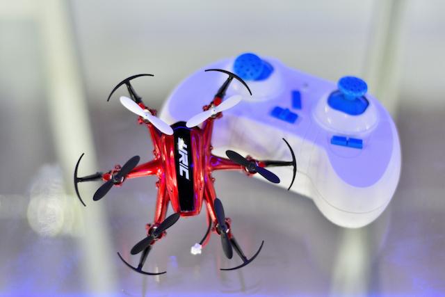 mini dron H20 Rojo