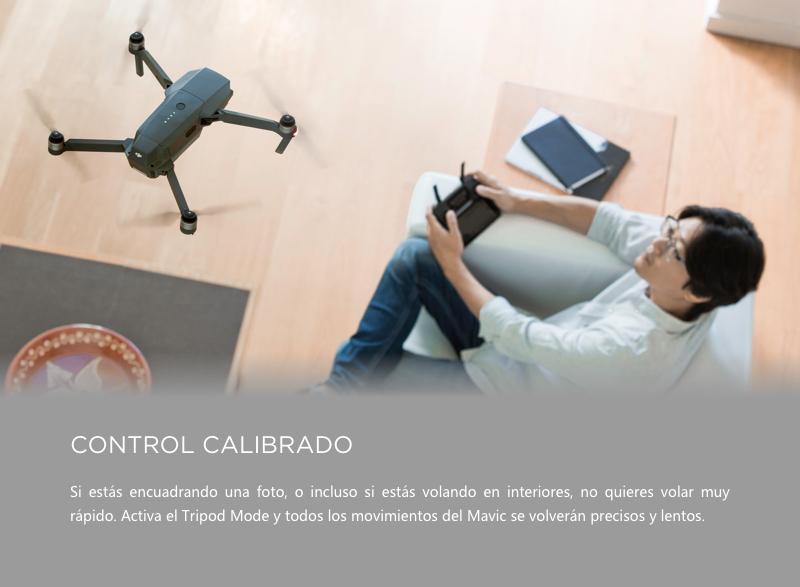 dronie con mavic pro