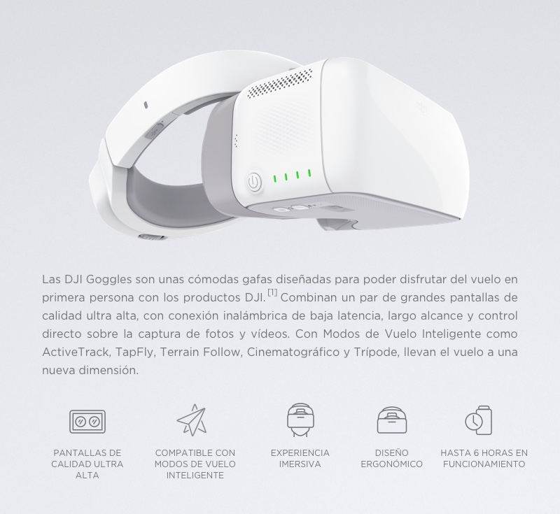 lentes realidad virtual dji